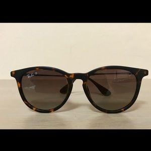 Ray-Ban Erika Classic tortoise sunglasses 54mm